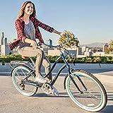 sixthreezero EVRYjourney Women's Step-Though Hybrid Cruiser Bicycle or eBike, 24-inch and 26-inch
