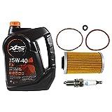 Sea Doo Oil Change Kit W/Filter O Rings & Spark Plugs 4-Tec GTI GTX RXP RXT GTR
