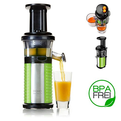 DOMO DO9139J Slow Juicer 2.0