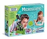 Clementoni- Scienza&Gioco Il Mio Primo microscopio, 8+ Anni, Multicolore, 12794