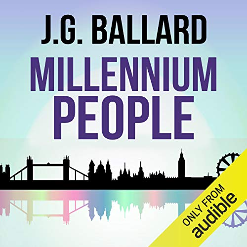 Millennium People audiobook cover art