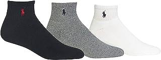 3 Pack Classic Men's Cotton Sport Socks,(Black, White,...