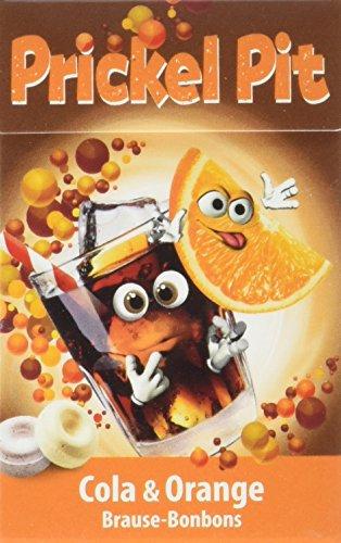 Prickel Pit Brause Bonbon Drops Orange/Cola, 15er Pack (15 x 35 g)