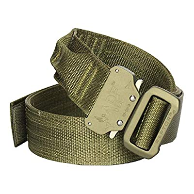 "Fusion Tactical Military Police Riggers Belt Coyote Brown Medium 33-38""/1.75"" Wide"