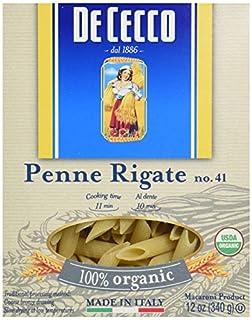 De Cecco Pasta Organic Penne Regate, 12 oz (B00IHO2K4A)   Amazon price tracker / tracking, Amazon price history charts, Amazon price watches, Amazon price drop alerts
