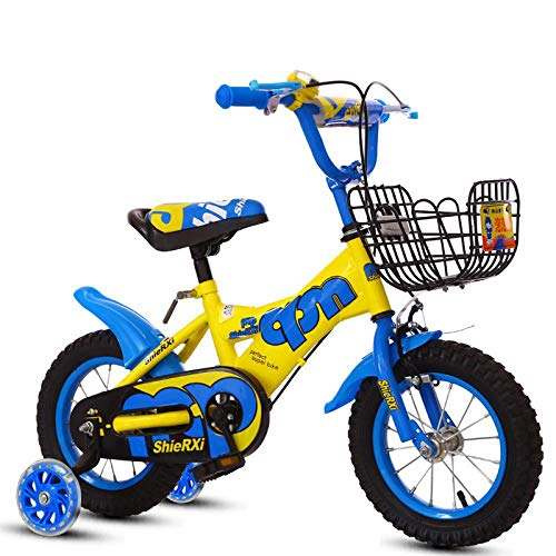 Buy Bargain Kid Bike Student Bike for Boys and Girls 12/14/16/18 Inch Cycling Bicycle Light Bike Gif...
