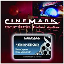 10 Cinemark Theatres Platinum Supersaver Movie Tickets