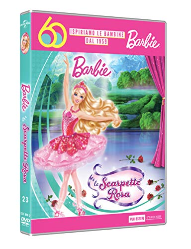 Barbie E Le Scarpette Rosa - Edizione 60 Anniversario (Barbie Ballerina) [Italia] [DVD]