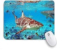 マウスパッド のサメサメと ゲーミング オフィス おしゃれ がい りめゴム ゲーミングなど ノートブックコンピュータマウスマット