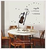 Wandtattoos & Wandbilder Die Geige Musik Symbole an der Wand 50 * 70 cm eingerichtet
