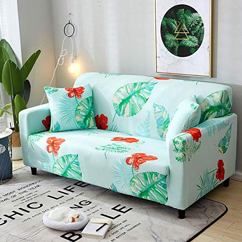 HXTSWGS Stretch Sofa Covers,Living room sofa cover 1 2 3 4 seat cover, stretch fabric sofa protection cover, sofa seat cover-Color25_190-230cm