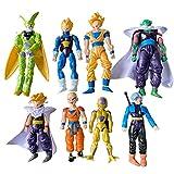 8Pcs/Set Amazing Z Dragon Bal DBZ Joint Movable Action Figures Kids Toys New Idea