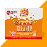 Lemi Shine Garbage Disposal Cleaner and Deodorizer - Kitchen Garbage Disposal Cleaner with a Natural Fresh Lemon Scent (16 Total)