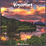 Wyoming 2021 Wall Calendar: Official Wyoming Calendar 2021, 18 Months