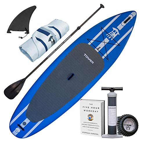 4. Best Inflatable SUP for Surfing - Tower Adventurer 2