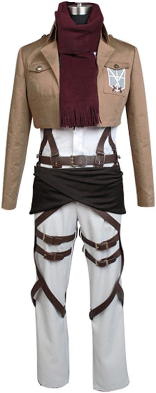 Shingeki no Kyojin Attack on Titan Mikasa Ackerman Cosplay Kostüm