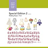 Xyron Wedding-Shapes-and-Font Special-Edition-2 Design Book for Xyron Personal Cutting System