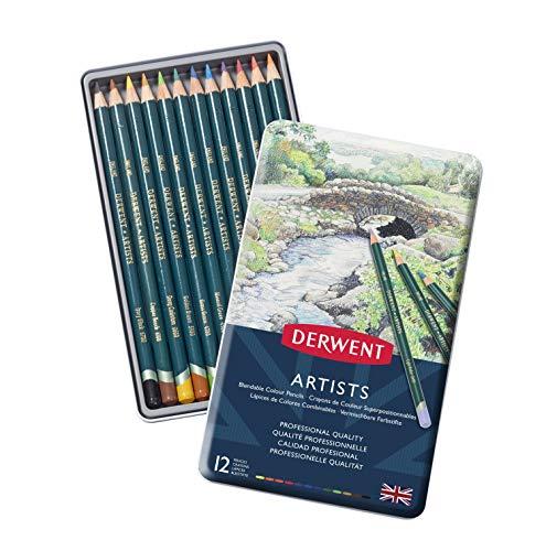 ダーウェント 色鉛筆 アーチスト カラーペンシル 12色セット 32092