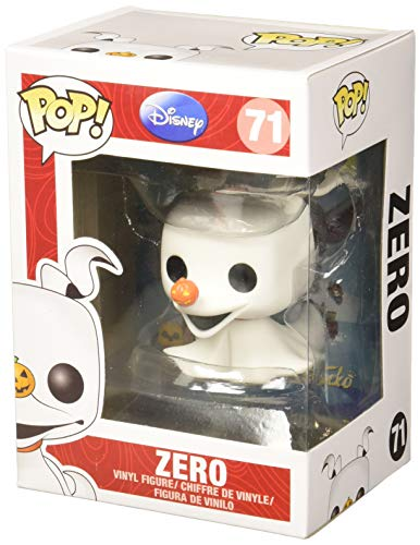 Funko POP Disney The Nightmare Before Christmas: Zero Multi-colored, 3.75 inches