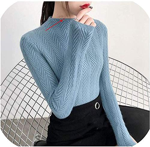 sunnyday-shop Ondergoed Vrouw Herfst en Winter Sweater Slim Bottom Shirt Lange Mouw