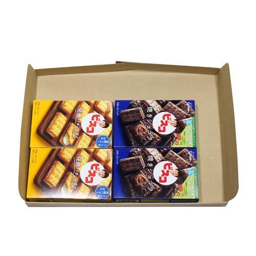 グリコ ビスコ〈発酵バター仕立て〉15枚(2コ)& ビスコ〈焼きショコラ〉15枚(2コ)セット