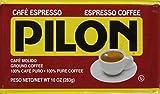 Pilon Espresso 100% Coffee, 10-Ounce Bricks (Pack of 4)