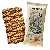 BAR WITH A MISSION: Mezcla is a delicious, high-protein snack bar that celebrates the flavors of the world. With three bold international flavors, hand-drawn designs on the front of each wrapper, and a QR code that unlocks an ever-changing virtual ga...