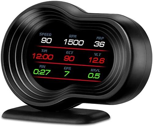 popular Car HUD Display, iKiKin HUD Head Up popular Display OBD2 GPS online Dual USB Interface for All Cars sale