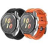 NotoCity Correa Conpatible con Huawei Watch GT 2 /Huawei Watch GT/Watch GT Active/Huawei Watch GT 2 Pro,22mm Pulsera de Repuesto de Silicona Correa Ajustable
