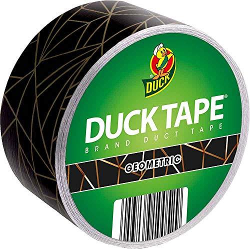 Duck Tape Geometric - Klebeband mit geometrischen Mustern und Linien zum Basteln, Dekorieren und Verschönern 48 mm x 9,1 m
