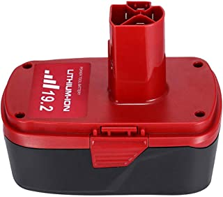5.0Ah 19.2 Volt Lithium Battery Replacement for Craftsman C3 Battery XCP Craftsman 19.2 Volt Battery 130279005 1323903 130211004 11045 315.115410 315.11485
