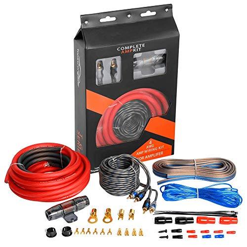 car stereo subwoofer wiring kit - 2