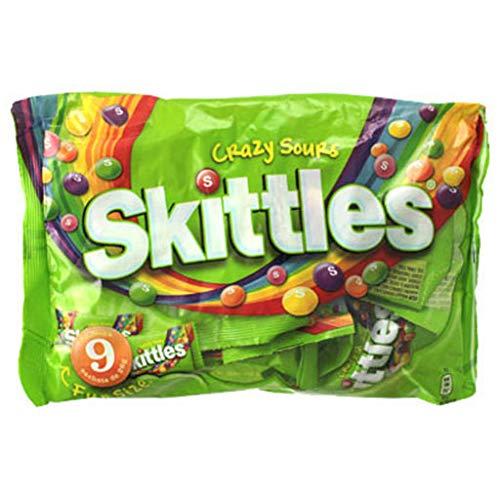 Skittles Crazy Sours (lot de 5)