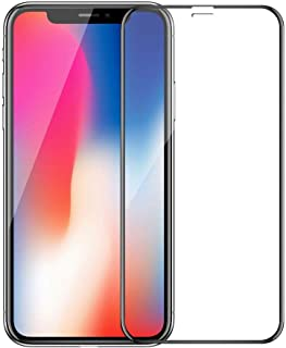 IPhone x Tempered Glass Screen Protector,Black