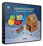 Franzis- Calendario dell'Avvento per Imparare a programmare, 24 emozionanti progetti elettronici, per Bambini dai 10 Anni in su, Multicolore, 67344-2