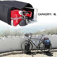 mlloaayo Borsa da Sella per Bici da 2,5 Litri Borsa da Sella per Bicicletta Impermeabile per Bicicletta da Strada di Montagna #8