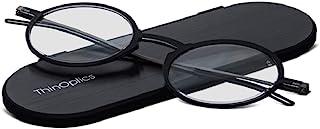 ThinOptics Frontpage Manhattan Reading Glasses + Milano Aluminum Case