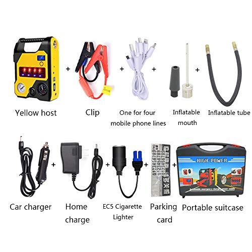 SSZZ Auto-starthulp, draagbaar, powerbank, mini, starter, acculader, noodstarter, accubooster