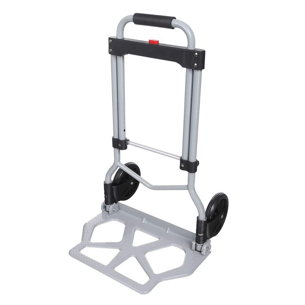Rendio Portable Wheels Black Shopping Industrial