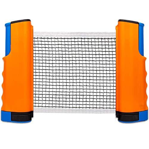 Red de Tenis de Mesa retráctil Rack de Red de Tenis de Mesa portátil Accesorios de Tenis de Mesa de Repuesto Deportes Interiores y Exteriores