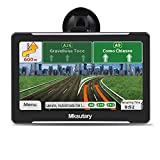GPS Navigation for Car, Navigation system 7inch Highly-brightness capacitive Touch Screen GPS,8 GB Lifetime Map Update, Turn-by-Turn Direction Reminding Real Voice Spoken Navigation System for Car GPS