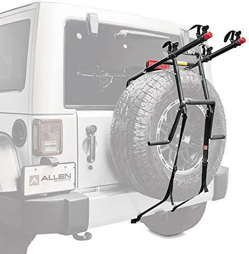 Allen Sports Deluxe 2 Bike Spare Tire Mounted Carrier Model 322DN product image