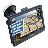 GPS Navigation for Car, 7-inch LCD Screen Universal Truck/Car Satellite Navigation, North America, Central...