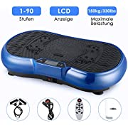 EVOLAND 3D Vibrationsplattform, Trainingsgerät mit Bluetooth-Lautsprechertraining, Multifunktionssport zum Abnehmen und Entspannen der Muskeln, maximale Gewichtsstützung 150 kg
