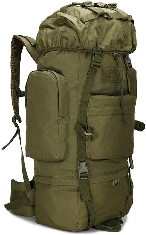 FJYBOA Rucksack Hot 65L Groe Kapazitt Outdoor Sports Bag Militrischer Taktischer Rucksack Wandern Camping Wasserdichte verschleifesten Nylon Rucksack