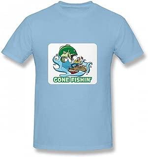 ゴーンフィッシンフィッシングフィッシャーマン Men T-Shirt メンズ Tシャツ