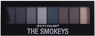 City Color Eyeshadow, Multi Color, 8 Color
