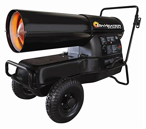 Mr. Heater F270385 MH210KTR Contractor 210,000-BTU Forced-Air Kerosene Heater