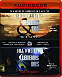 Bill O'Reilly's Legends & Lies: The Real West and The Patriots 2 Audiobooks in 1 Package