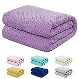 "Baby Blanket for Girls and Boys - 40""x50"" Lavanda - Toddler Blankets - Kids Throw - Newborn Blankets - Soft Lightweight Fleece for Bed, Crib, Stroller"